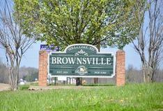 布朗斯维尔,海伍德县田纳西  免版税库存照片