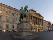 布朗斯维克宫殿 免版税库存照片
