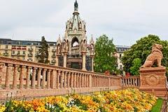 布朗斯维克纪念碑日内瓦瑞士 免版税库存图片