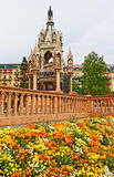 布朗斯维克纪念碑日内瓦瑞士 库存图片