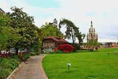 布朗斯维克纪念碑日内瓦,瑞士 库存照片