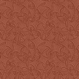布朗无缝的弯曲的背景 向量例证