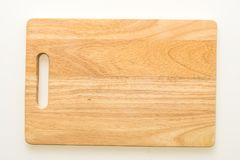 布朗木切板 免版税库存图片