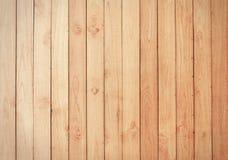 布朗木板条墙壁纹理 免版税库存照片