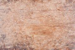 布朗木纹理摘要自然本底空的模板木头 免版税库存图片
