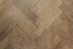 布朗木镶花地板 库存照片