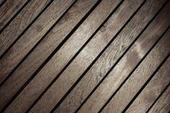 布朗木顶面桌纹理 免版税库存图片
