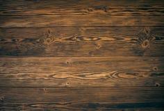 布朗木头地板 免版税库存照片