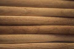 布朗板条木头特写镜头  木背景 库存照片