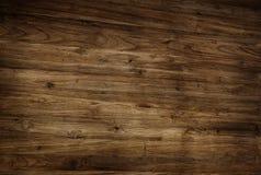 布朗构造了被涂清漆的木地板 库存图片