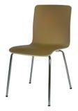 布朗椅子 库存例证