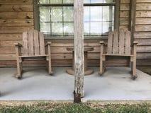 布朗椅子 免版税库存照片
