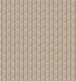 布朗毛线衣纹理背景 向量 免版税库存照片