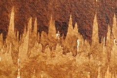 布朗水彩纹理 库存图片