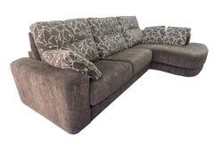 布朗沙发 免版税库存图片