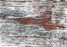 布朗灰色大理石水墨画纸 免版税库存图片