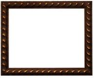 布朗照片框架 库存图片