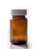 布朗瓶isoalate 库存图片
