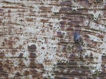 布朗白色生锈的陶瓷墙壁结构摘要背景 库存照片