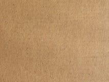 布朗皱纸板纹理背景 免版税库存图片