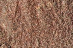 布朗石头纹理 免版税库存图片