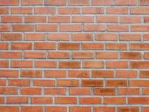 布朗砖块与肮脏的墙壁背景 图库摄影