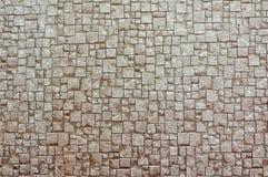 布朗砖墙纹理背景  免版税库存图片