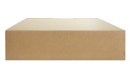 布朗箱子纸 图库摄影