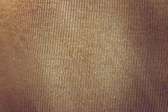 布朗纺织品纹理 库存照片
