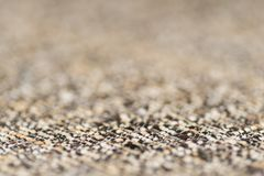 布朗织品纹理 抽象背景,空的模板 免版税库存图片