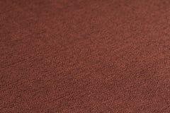 布朗织品纹理 抽象背景,空的模板 库存照片