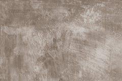 布朗绘了墙壁纹理背景 图库摄影