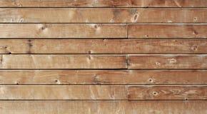 布朗老木头或木葡萄酒板条地板或墙壁表面背景装饰样式 最小的桌面简单的盖子 图库摄影