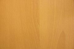 布朗背景的一层木头 库存图片
