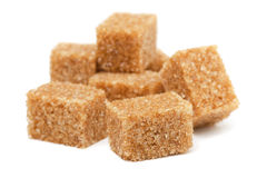布朗蔗糖 免版税库存图片
