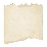 布朗被撕毁的难看的东西纸纹理 免版税库存照片
