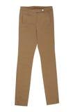 布朗裤子 免版税图库摄影