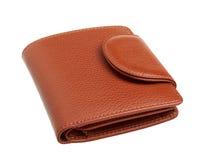 布朗钱包 库存照片