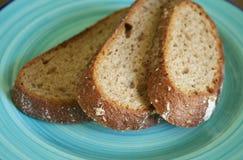 布朗面包 免版税库存图片