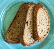 布朗面包 库存图片