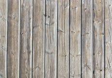 布朗风化了木板走道板条背景 库存图片