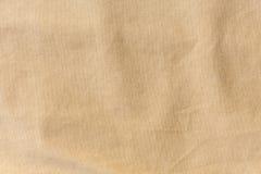 布朗织品纹理背景,纺织品材料  免版税库存图片