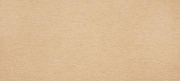 布朗水平的被回收的纸纹理 库存照片