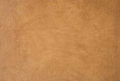 布朗水泥墙壁纹理 库存照片