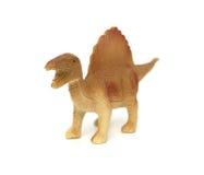 布朗spinosaurus玩具 免版税库存图片