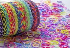 织布机带镯子 库存图片