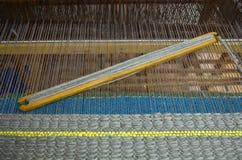 织布机用工具加工木 免版税库存照片