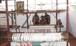织布机的工匠 库存图片