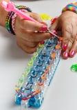织布机镯子 免版税库存图片
