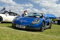 布罗姆利, LONDON/UK - 6月07日:布罗姆利壮丽的场面开汽车 最大的一天经典车展 库存照片